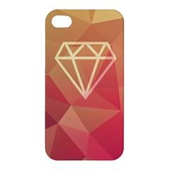 Diamond Apple iPhone 4/4S Premium Hardshell Case by Contest1701949