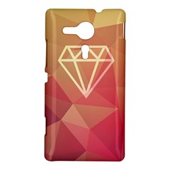 Diamond Sony Xperia Sp M35H Hardshell Case by Contest1701949