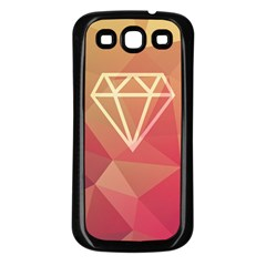 Diamond Samsung Galaxy S3 Back Case (black)