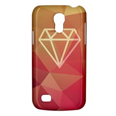 Diamond Samsung Galaxy S4 Mini Hardshell Case  by Contest1701949