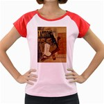 Pipe, Glass, Bottle of Vieux Marc Women s Cap Sleeve T-Shirt