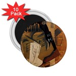 Pipe, Glass, Bottle of Vieux Marc 2.25  Magnet (10 pack)