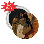 Pipe, Glass, Bottle of Vieux Marc 2.25  Magnet (100 pack)