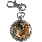 Pipe, Glass, Bottle of Vieux Marc Key Chain Watch