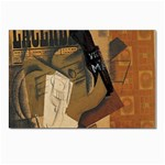 Pipe, Glass, Bottle of Vieux Marc Postcards 5  x 7  (Pkg of 10)