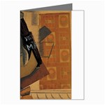 Pipe, Glass, Bottle of Vieux Marc Greeting Cards (Pkg of 8)