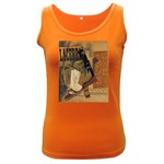 Pipe, Glass, Bottle of Vieux Marc Women s Dark Tank Top
