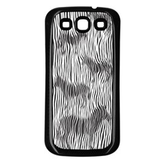 Where s The Zebra? Samsung Galaxy S3 Back Case (black)