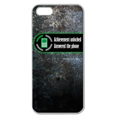 Achievement Unlocked Apple Seamless iPhone 5 Case (Clear)