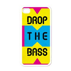 Drop The Bass Apple Iphone 4 Case (white) by Contest1775858