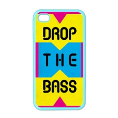 DROP THE BASS Apple iPhone 4 Case (Color) by Contest1775858