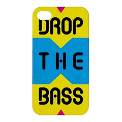 Drop The Bass Apple Iphone 4/4s Hardshell Case by Contest1775858
