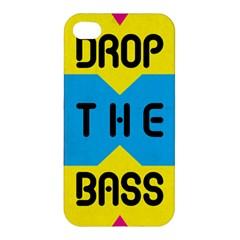 Drop The Bass Apple Iphone 4/4s Premium Hardshell Case