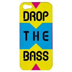 Drop The Bass Apple Iphone 5 Hardshell Case by Contest1775858