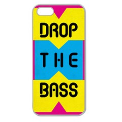 Drop The Bass Apple Seamless Iphone 5 Case (clear)