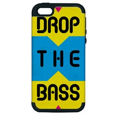 Drop The Bass Apple Iphone 5 Hardshell Case (pc+silicone) by Contest1775858