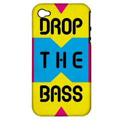 Drop The Bass Apple Iphone 4/4s Hardshell Case (pc+silicone) by Contest1775858