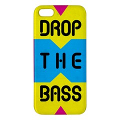Drop The Bass Iphone 5s Premium Hardshell Case by Contest1775858