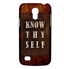 Know Thyself Samsung Galaxy S4 Mini Hardshell Case