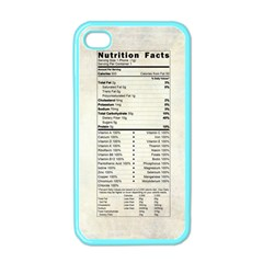Phone Nutrition Apple Iphone 4 Case (color)