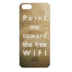 Free Wifi Apple Iphone 5 Seamless Case (white)