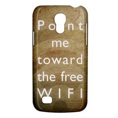 Free Wifi Samsung Galaxy S4 Mini Hardshell Case