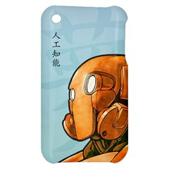 Robot Dreamer Apple iPhone 3G/3GS Hardshell Case by Contest1780262