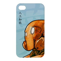 Robot Dreamer Apple Iphone 4/4s Hardshell Case by Contest1780262