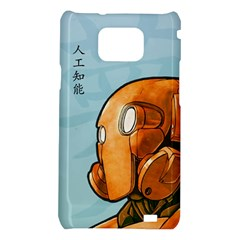Robot Dreamer Samsung Galaxy S II i9100 Hardshell Case  by Contest1780262