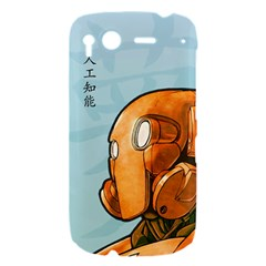 Robot Dreamer HTC Desire S Hardshell Case by Contest1780262