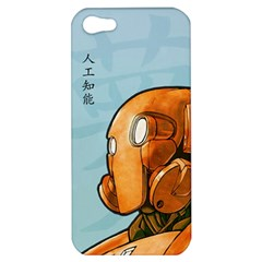 Robot Dreamer Apple Iphone 5 Hardshell Case by Contest1780262
