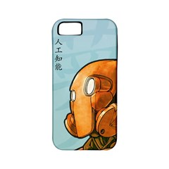 Robot Dreamer Apple Iphone 5 Classic Hardshell Case (pc+silicone) by Contest1780262
