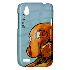 Robot Dreamer HTC T328W (Desire V) Case by Contest1780262