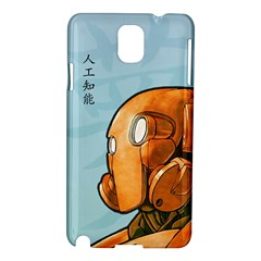 Robot Dreamer Samsung Galaxy Note 3 N9005 Hardshell Case by Contest1780262