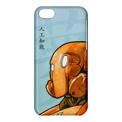 Robot Dreamer Apple Iphone 5c Hardshell Case by Contest1780262