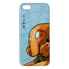 Robot Dreamer Iphone 5s Premium Hardshell Case by Contest1780262