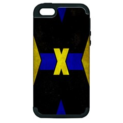 X Phone Apple Iphone 5 Hardshell Case (pc+silicone)