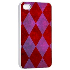 Diamond Tiles Apple Iphone 4/4s Seamless Case (white)