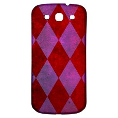 Diamond Tiles Samsung Galaxy S3 S Iii Classic Hardshell Back Case