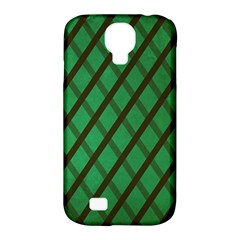 Green Stripes Samsung Galaxy S4 Classic Hardshell Case (pc+silicone)