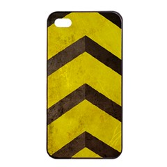 Caution Apple Iphone 4/4s Seamless Case (black) by Contest1775858
