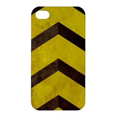 Caution Apple Iphone 4/4s Premium Hardshell Case by Contest1775858