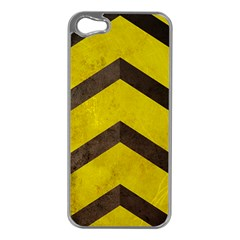 Caution Apple Iphone 5 Case (silver) by Contest1775858