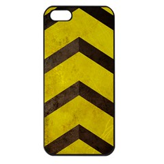 Caution Apple Iphone 5 Seamless Case (black) by Contest1775858