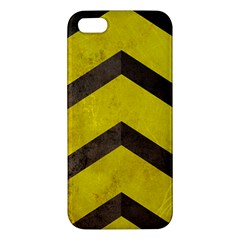 Caution Iphone 5 Premium Hardshell Case by Contest1775858