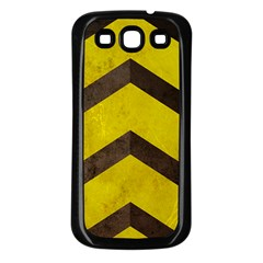 Caution Samsung Galaxy S3 Back Case (black) by Contest1775858