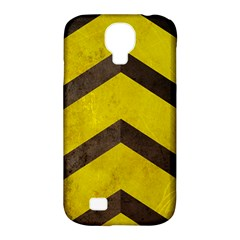 Caution Samsung Galaxy S4 Classic Hardshell Case (pc+silicone) by Contest1775858