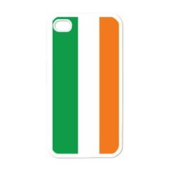 Irish Flag Apple Iphone 4 Case (white) by ContestDesigns
