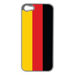German Flag Apple Iphone 5 Case (silver)