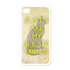 Best Friends Apple Iphone 4 Case (white)